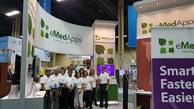 eMedApps Team and Booth