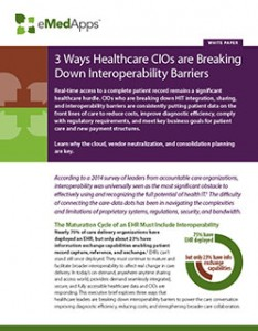 3 Ways Healthcare CIOs are Breaking Down Interoperability Barriers cover image